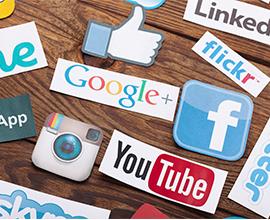 סמלים של רשתות חברתיות